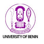 My Logo: UNIBEN Post UTME Form