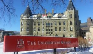 My logo : Winnipeg Canada Scholarship