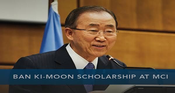 My logo: Ban Ki-Moon Scholarship
