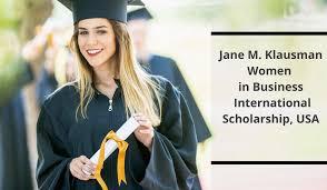 My Logo : Zonta International Jane M Klausman Women in Business Scholarship