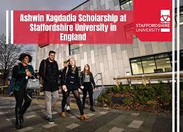 My Logo : Staffordshire University Scholarship