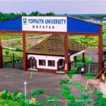 My logo : Topfaith University Post UTME
