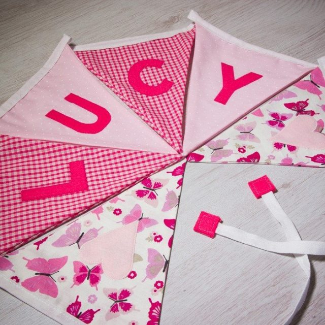 Personalised Bunting Arty Apple