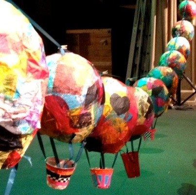 Aberdeen International Youth Festival Hot Air Balloon Project