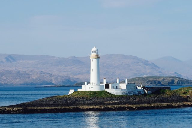 May Day Weekend  on the Isle of Mull West Coast Scotland Duart Castle