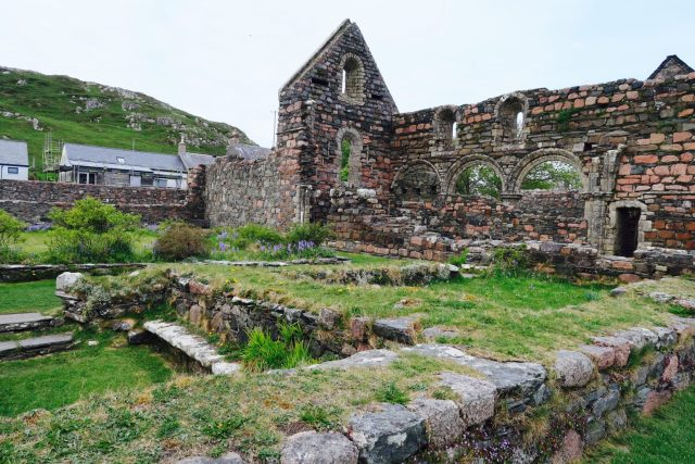 May Day Weekend  on the Isle of Mull Iona West Coast Scotland