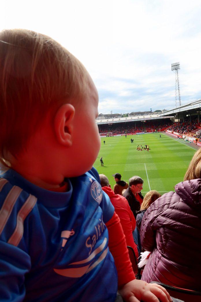 Aberdeen Family Weekend Photos & Vlog | Play Parks, Winter Gardens & Football Scotland Aberdeenshire Days Out Duthie Park Aberdeen Football Club