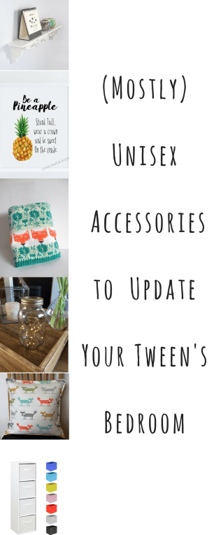 Unisex Accessories to Update Your Tween's Bedroom