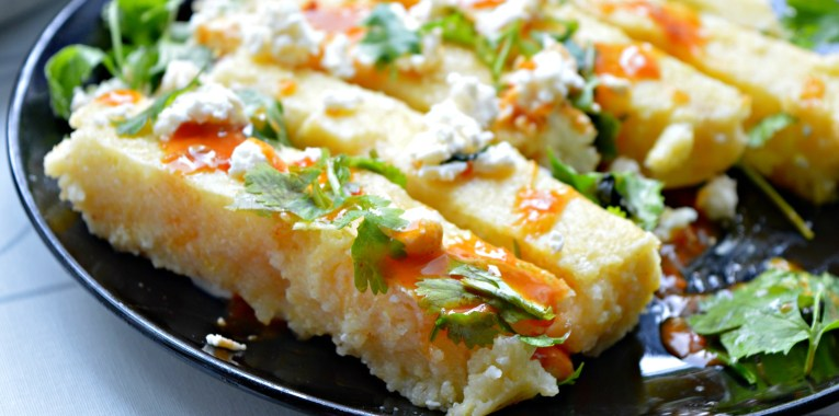 Meatless Monday: Spicy Polenta Chips