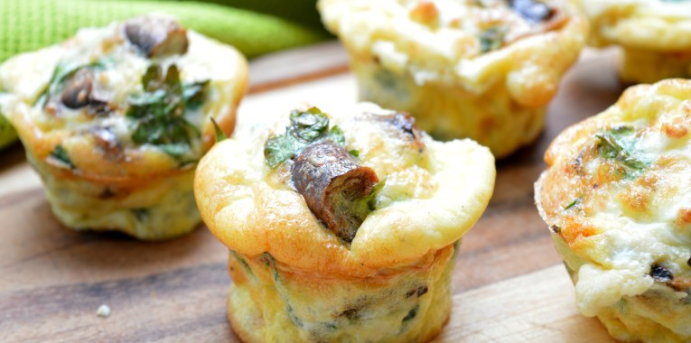 Sausage & Feta Breakfast  Cups