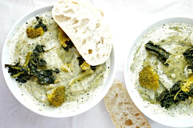 Broccoli & Cavolo Nero Soup
