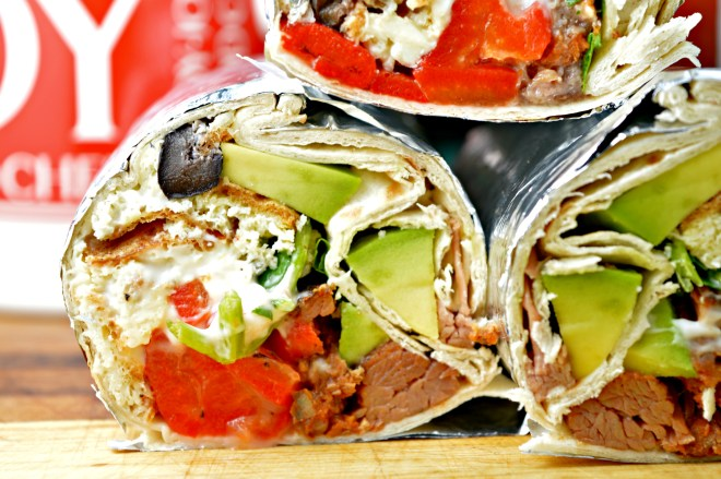 Beef Breakfast Wraps