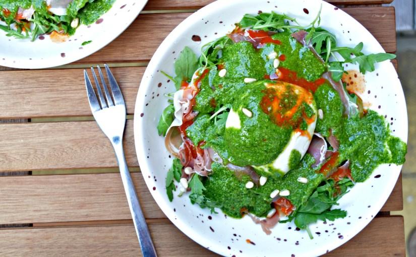 Fresh Mozzarella & Prosciutto Salad