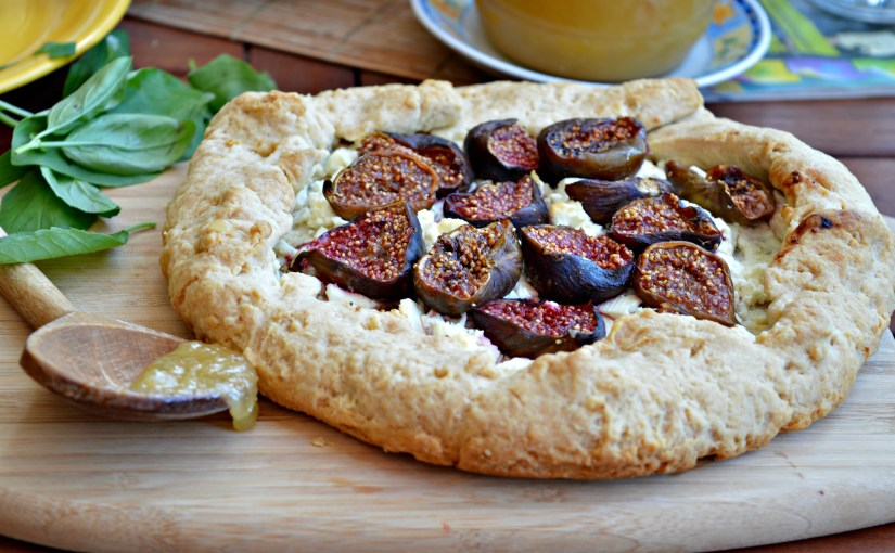 Figs & Goat's Cheese Galette