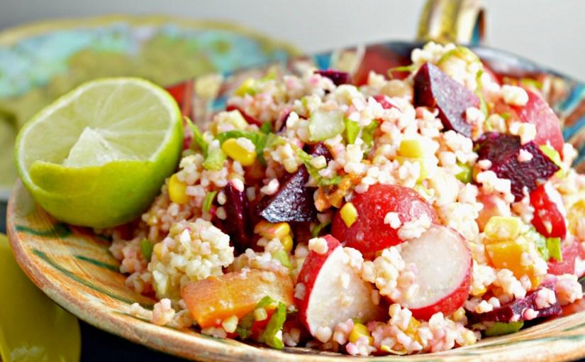 Butternut Squash & Root Veggies Bulgur Salad