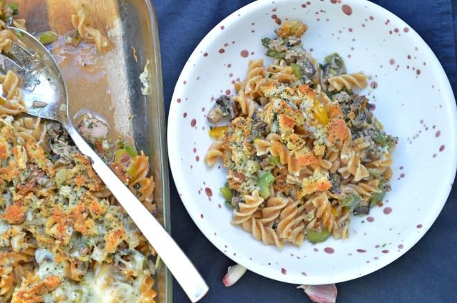 Tuna Pasta Casserole