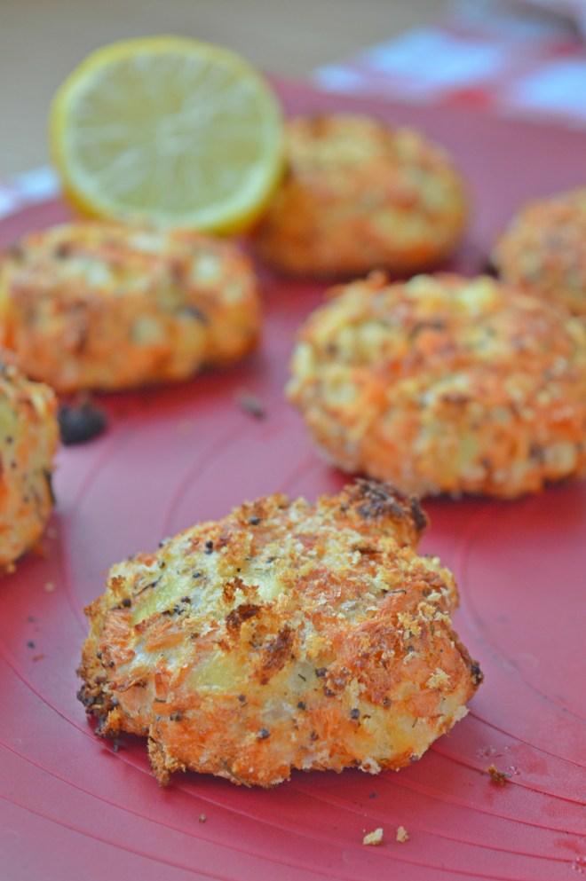 Oven-baked Salmon Fishcakes