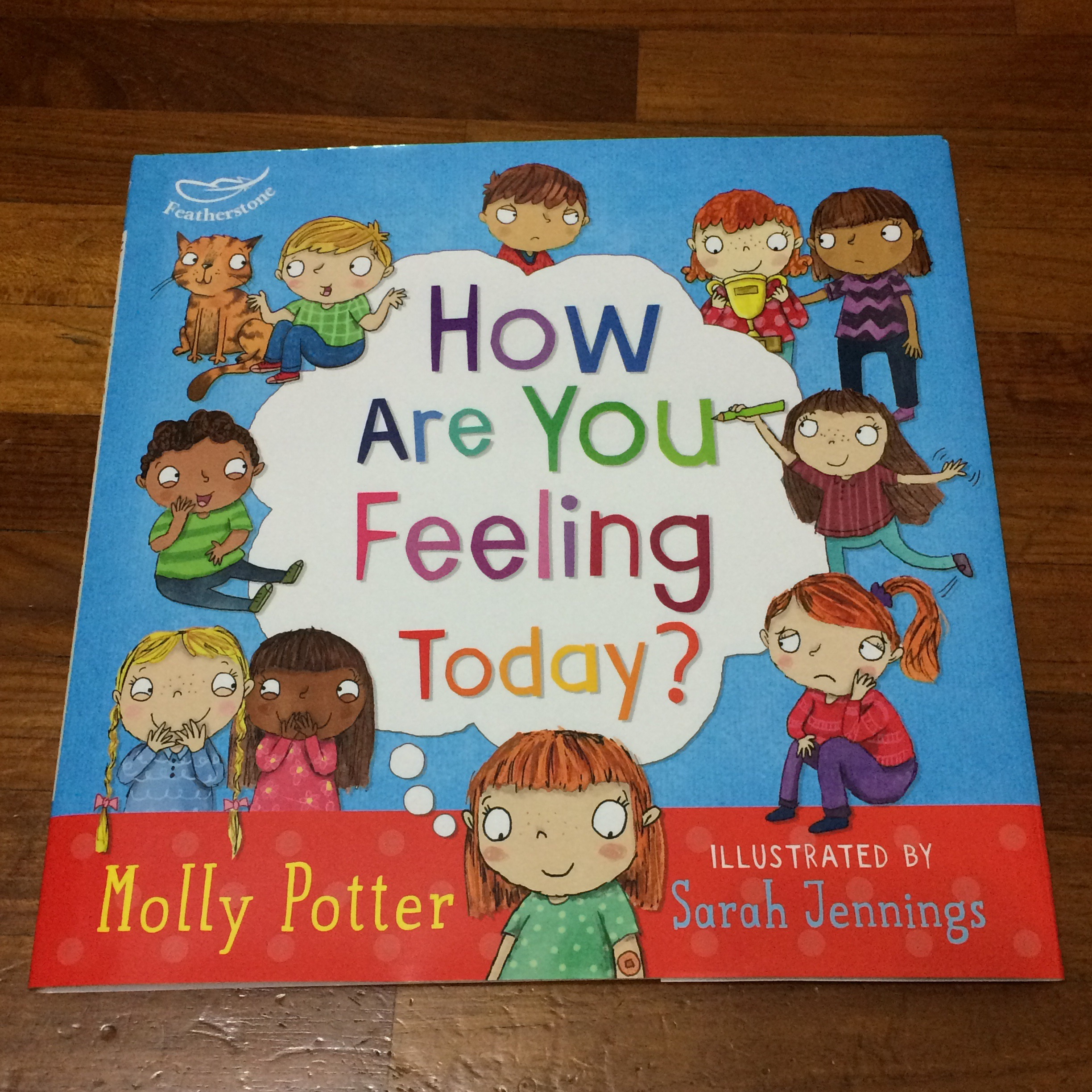Book Review How Are You Feeling Today