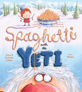 Spahetti with the Yeti from egmont press