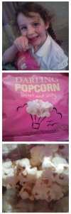 Bloggers night popcorn darling
