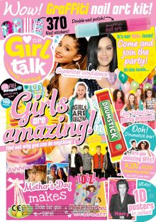 Girl Talk 500th Edition Cover Shot