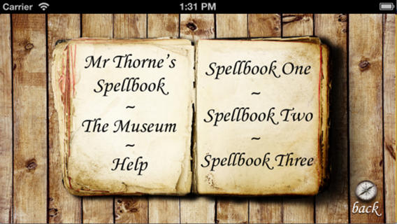 Mr thorne spellbook