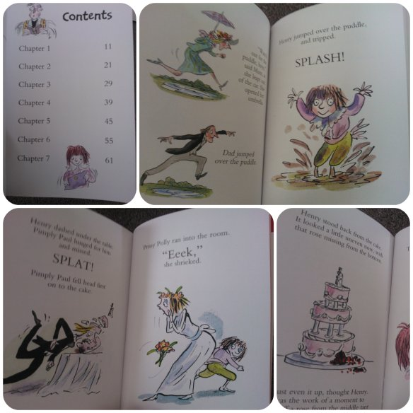 Horrid Henry wedding book orion