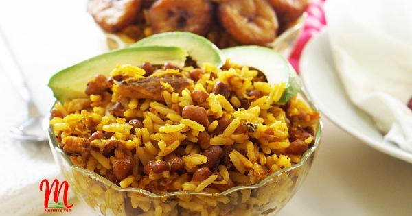 Palm Oil Rice & Beans