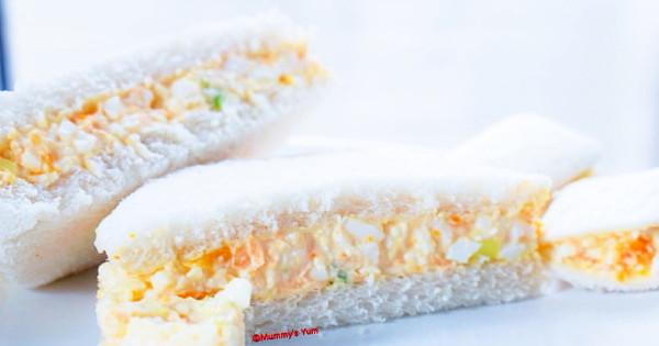 Simple Egg-Mayo Sandwich