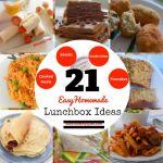 21 Easy Homemade School Lunchbox Ideas