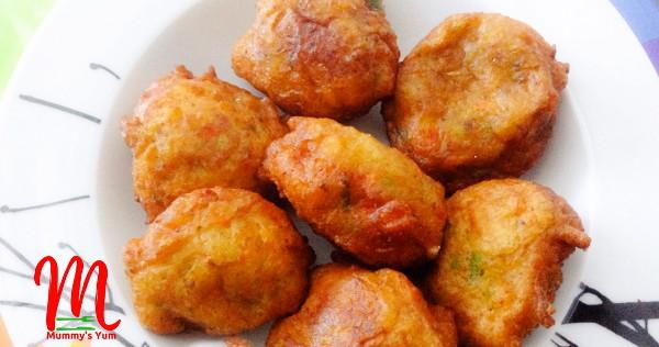 veggie plantain puff