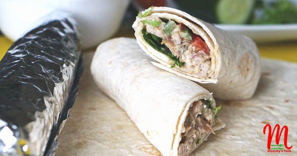 Chicken Salad Sweet Wrap