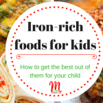 Iron Rich Foods For Kids