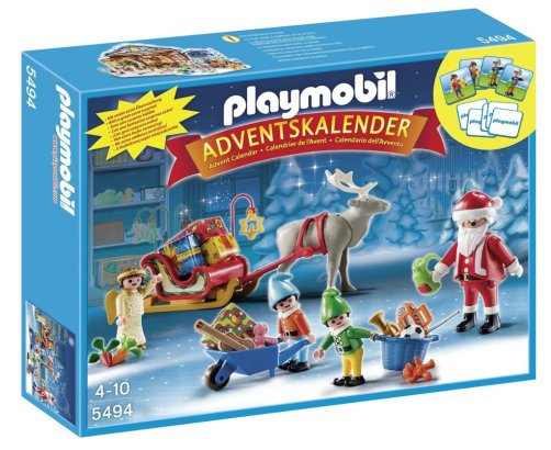 Playmobil Santas Workshop Advent Calendar