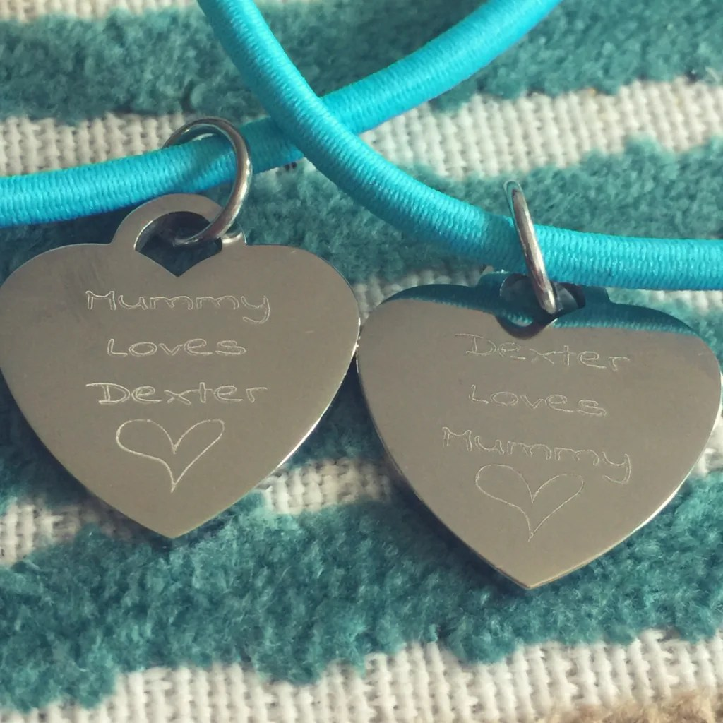 Our review of the gorgeous Mummy and Me bracelet set from itshandmade.co.uk. We chose a set in the beautiful turquoise colour. Lovingly made.