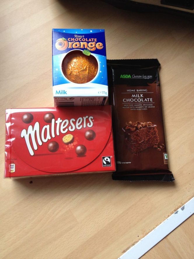 Malteser Christmas Pudding