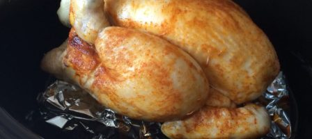 *Recipe* Slow cooker whole chicken