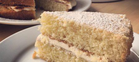 *Recipe* Victoria Sponge Cake