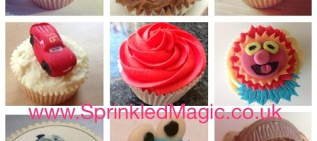 *Prize Draw* Win a box of 6 SprinkledMagic cupcakes