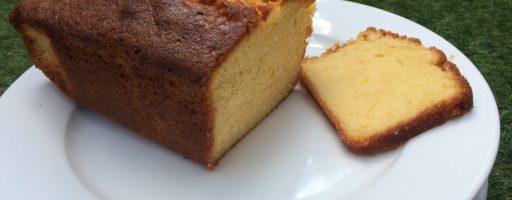 Delicious homemade madeira cake