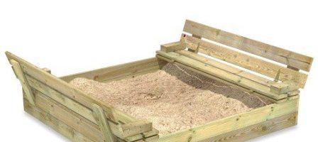 *Prize Draw*  Wickey Flip Sand pit 110x125cm