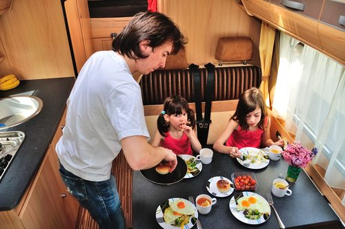 Caravan healthy Breakfast