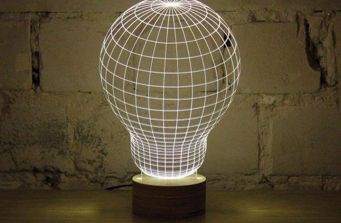 Unique Lightbulb LED Lamp