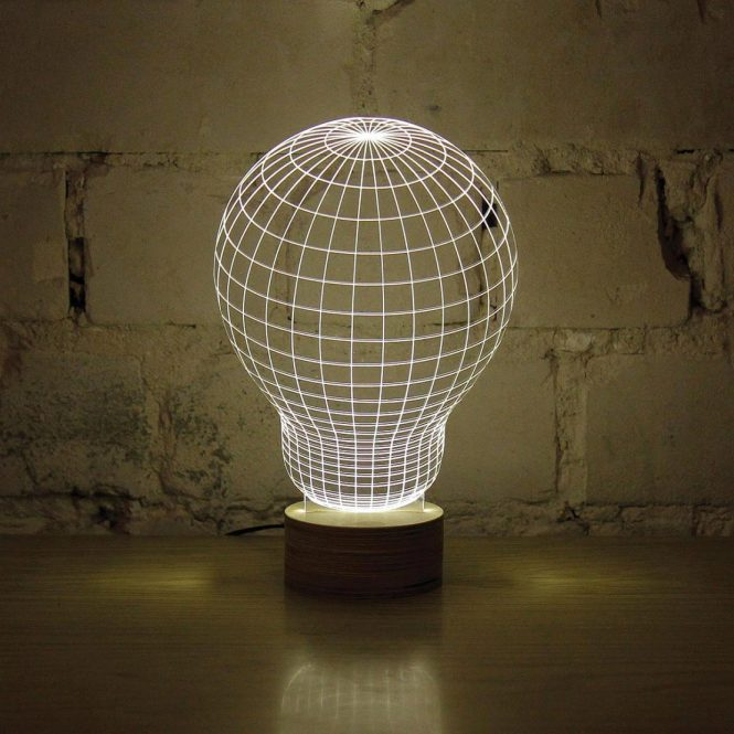 Unique Lightbulb LED Lamp