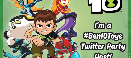 #Ben10Toys twitter party – 31/08/17 1pm – 3pm