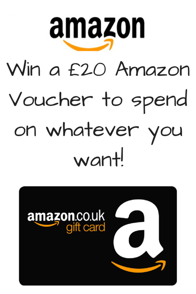 Win a £20 AmazonVoucher to spend on whatever you want!