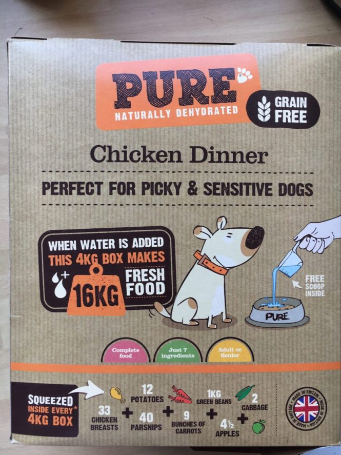 Pure Pet Food Chicken Dinner