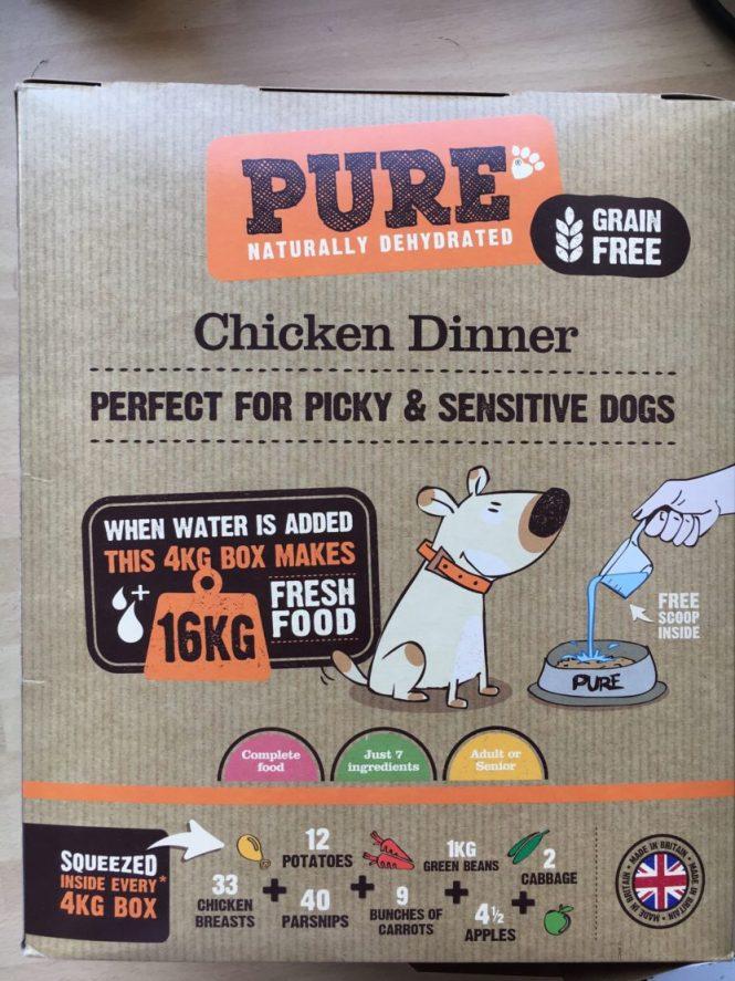 Pure Pet Food Chicken Dinner