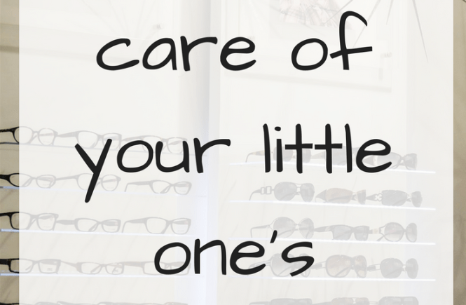 Taking care of your little ones eyes