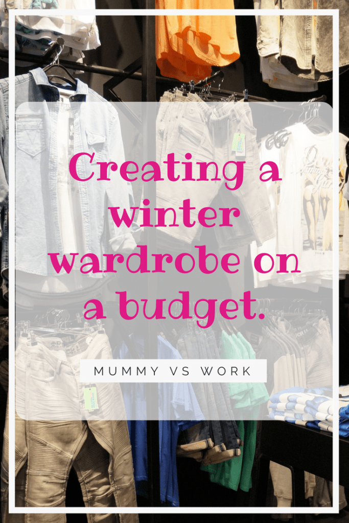 Creating a winter wardrobe on a budget